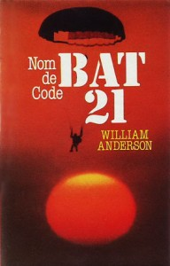 Nom de code BAT 21 - William Anderson dans William Anderson cover-192x300